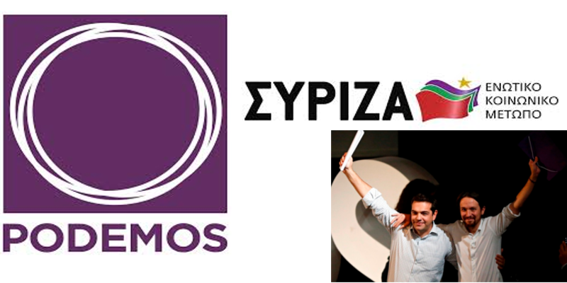 Podemos and Syriza